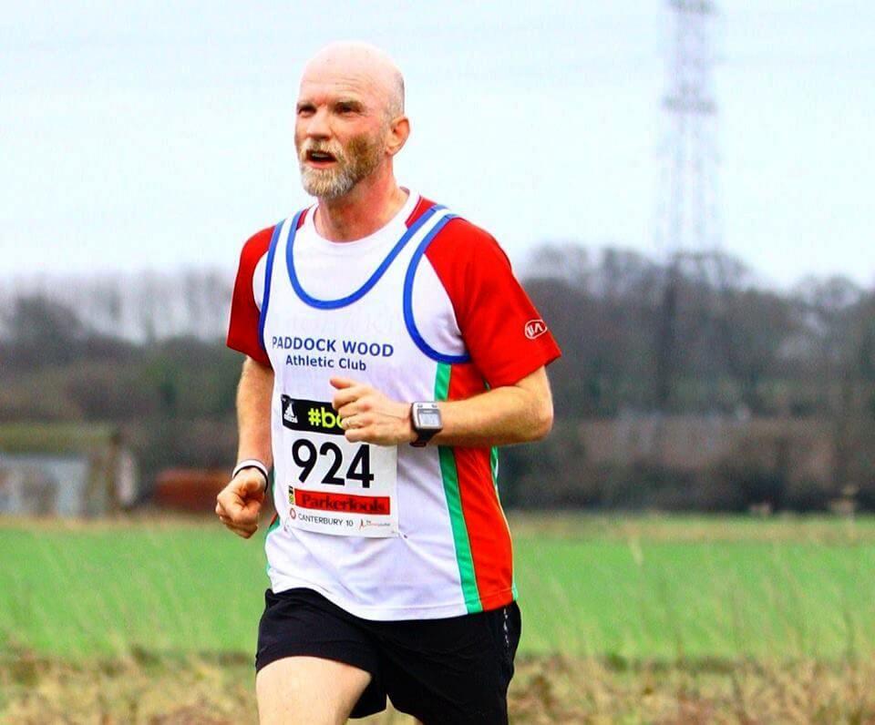 Tim Veysey-Smith Podiatrist Running