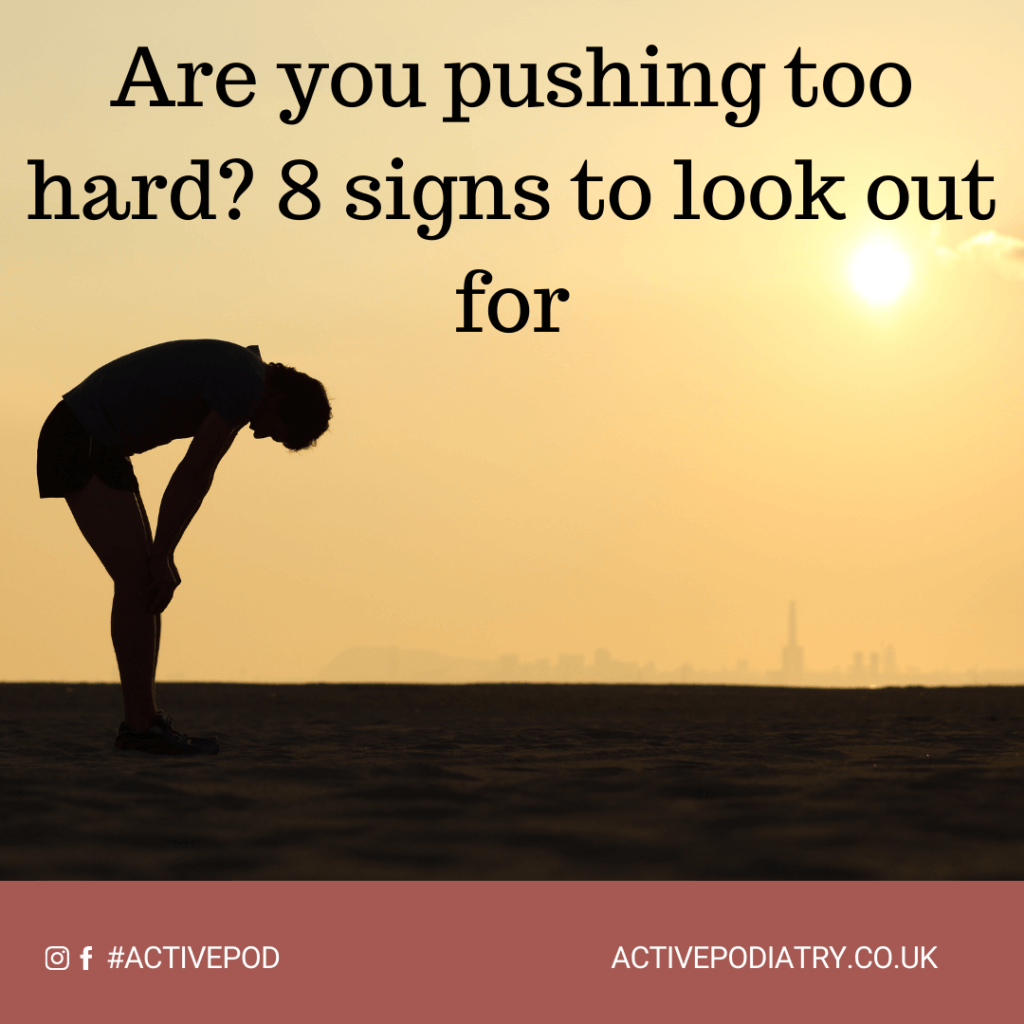 Are you pushing too hard?